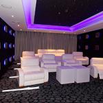 Hand-tufted-carpet,-Curtains-and-wall-paneling-of-Home-cinema---Dubai-Al-Barsha-Villa-Project