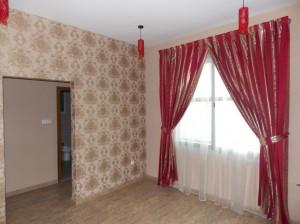 Curtain,-chiffon-and-wallpaper-of-Guest-Room-in-Falcon-City--Dubai