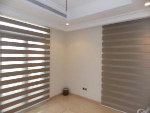 Duplex Blinds of Office Room in Palm Jumeirah, Dubai