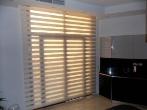 Duplex blinds of Kitchen Area in Mezhar, Dubai