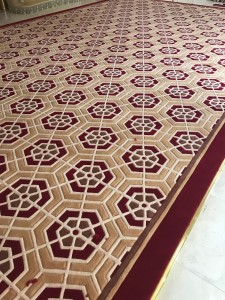 Hand Tufted Carpet in Jumeirah Villa project