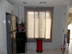 Roller Blinds of Kitchen Room in Spring Dubai