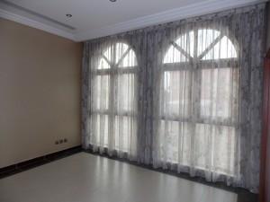 Sheer Curtains of Bedroom in Jumeirah Golf Estate Dubai