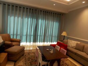 Sheer Curtains of Living Area in Al Barsha Dubai