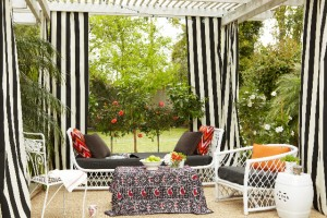 black-and-white-striped-outdoor-curtains